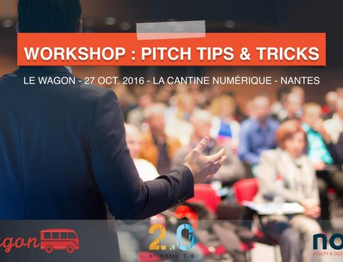 Workshop « Pitch : tips and tricks » avec Le Wagon – La Cantine Numérique à Nantes